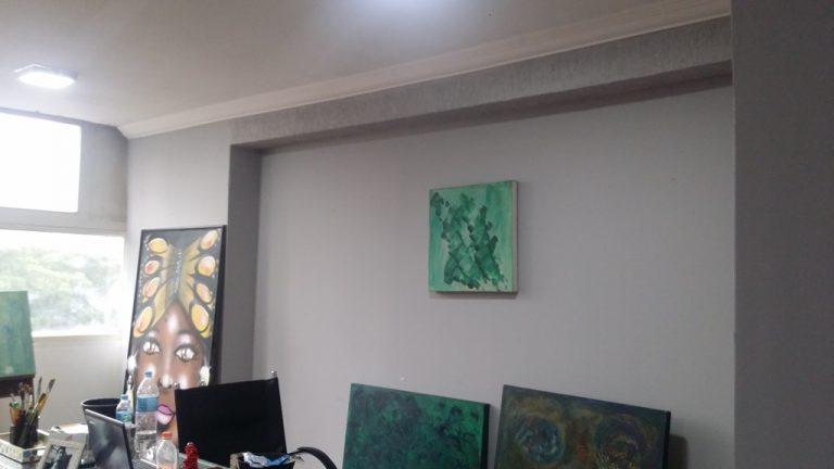 Centro – Conjunto Comercial c/ 42 m2 em vão livre c/ 1 banheiro